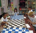 Kids playing Fantasy Chess